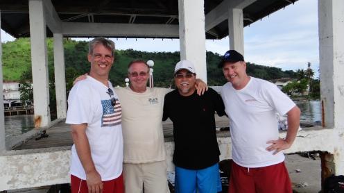"""""""The Lost Clipper"""" film crew in Micronesia"""