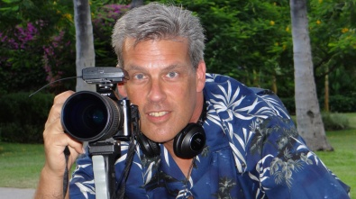 """Filming """"The Lost Clipper"""" documentary in Hawaii"""