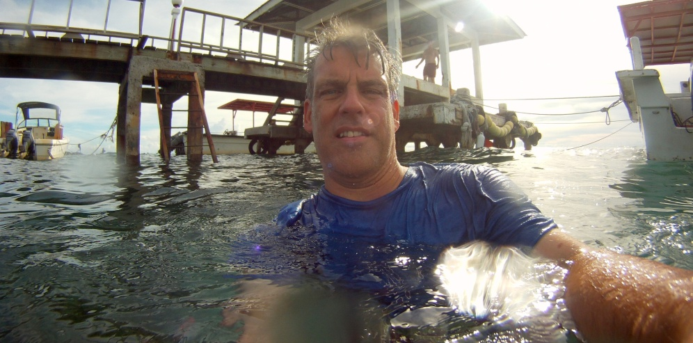 """Filming """"The Lost Clipper"""" documentary in Micronesia"""